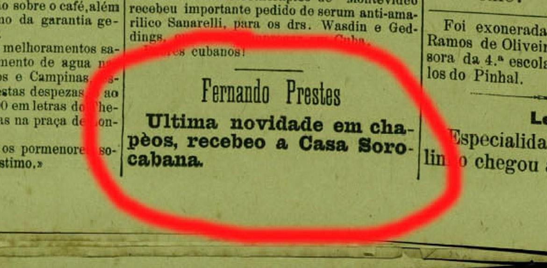 Fernando Prestes e sua fundação