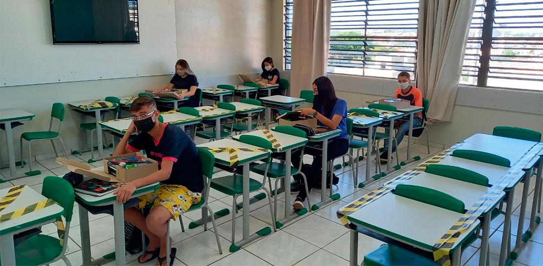A volta as aulas sob a pandemia