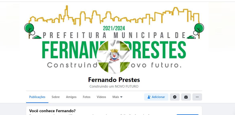 Perfil fake difama vereadores e vira caso de polícia em Fernando Prestes