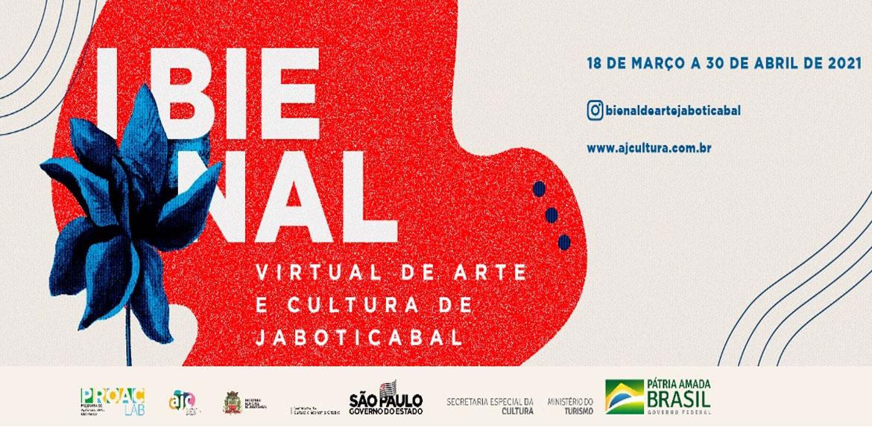 Jaboticabal abre no dia 18 de março a I Bienal Virtual de Arte e Cultura